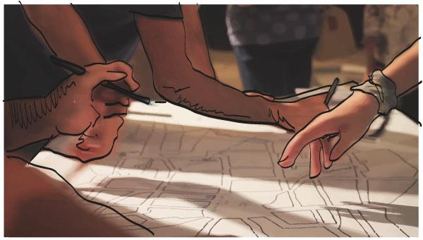 manos+dibujo